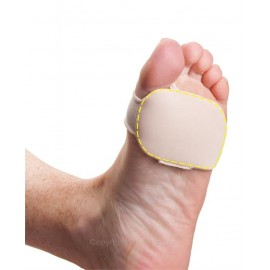 Pedifix® Visco-GEL® Silicone Thin Forefoot Cushion