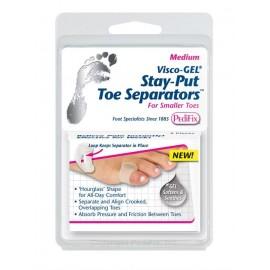 Pedifix® Visco-GEL® Stay-Put Toe Separators™