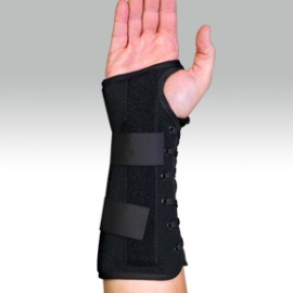 """Suede Lacing 10"""" Wrist & Forearm Orthosis"""