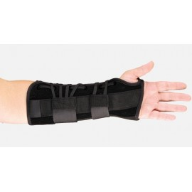 Suede Lacing Wrist & Forearm Orthosis