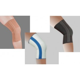 Compressive Knit Knee Sleeve with Dual Stays