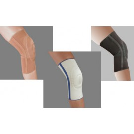 Visco-Elastic Compressive Knee Sleeve with Stay