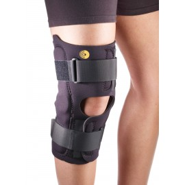"Corflex® ⅛"" Neoprene 13"" Anterior Closure Knee Wrap with Hinges"