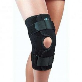 FLA Orthopedics® Safe-T-Sport® Neoprene Wraparound Hinged Knee Brace