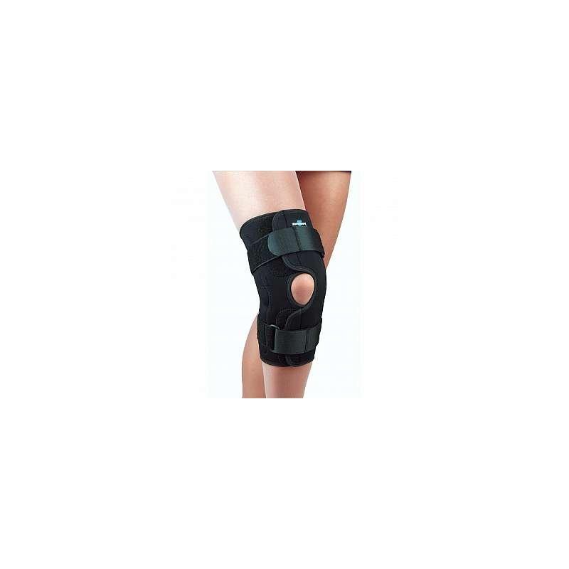 f31beb5511 FLA Orthopedics® Safe-T-Sport® Neoprene Wraparound Hinged Knee Brace.  Loading zoom