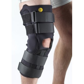"Corflex® 16"" Anterior Closure Open Popliteal Knee Wrap with R.O.M. Hinge"