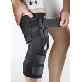 """Corflex® 13"""" CoolTex Posterior Adjustable Knee Sleeve with R.O.M. Hinge"""